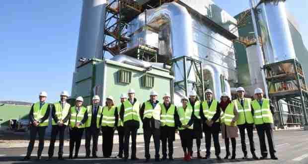García-Page inauguró 'Biollano-50MW', la nueva planta de generación de energía renovable con biomasa de Puertollano 1
