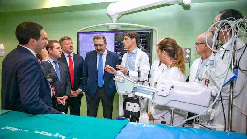 Con la dotación del Gobierno regional de un servicio de Hemodinámica al Hospital de Cuenca, ya se evitaron 200 desplazamientos a los ciudadanos 1