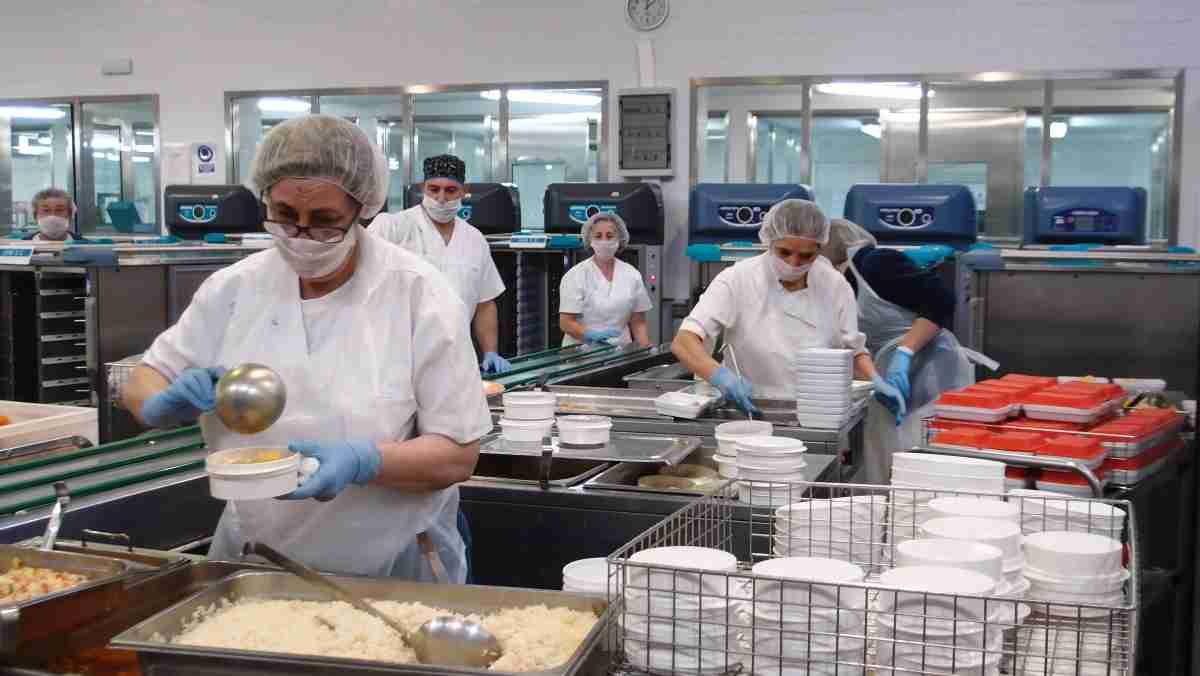 nuevas terminales y carros de cocina para el hospital de ciudad real