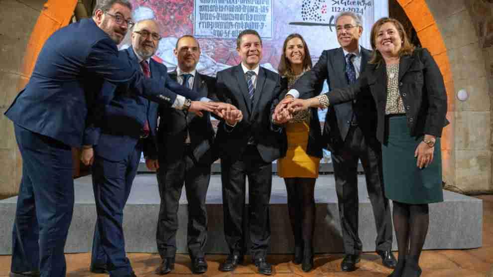 Actos conmemorativos por el IX Centenario de la Reconquista de Sigüenza, presentados por el presidente García-Page 1