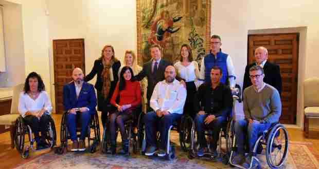 El Gobierno regional financia las sillas de ruedas del equipo 'Carpetanos Quad Rugby' de Toledo 1