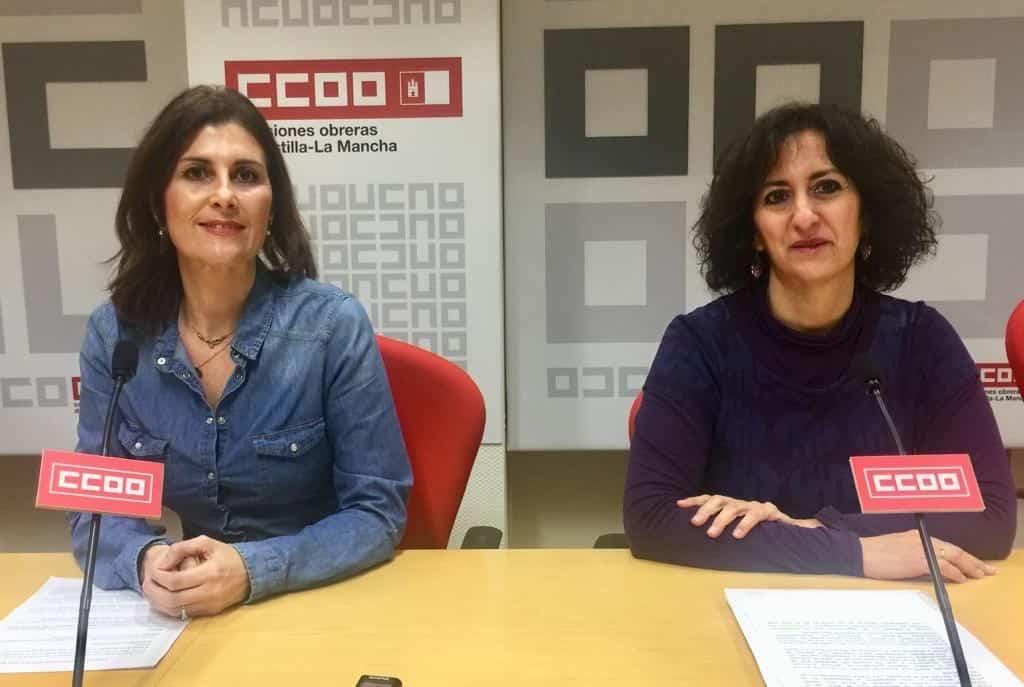 """CCOO-Toledo quiere subidas salariales mínimas del 2% en 2020 y ningún convenio por debajo de 14.000 euros   CCOO-Toledo quiere para 2020 subidas salariales mínimas del 2% y ningún salario de convenio por debajo de los 14.000 euros.   Así lo expresó la secretaria de Acción Sindical y Salud Laboral de CCOO-Toledo, Nuria Garrido, en la rueda de prensa ofrecida junto a la responsable de Organización, Mayte García Cabañas, para hablar acerca de los retos del sindicato en 2020 y de los objetivos en materia de negociación colectiva.   """"En el 2019, el incremento salarial medio pactado en la negociación colectiva fue del 1,91%, muy cerca del 2% establecido en el AENC. Este año nos toca renovar cuatro convenios que perdieron vigencia el pasado 31 de diciembre, los de Vinícolas (1.200 personas afectadas), Campo (9.000), Comercio alimentación (7.500) y Aceites (1.000); a los que hay que añadir dos más que, por diferentes motivos, llevan años estancados (Madera y Panaderías).  """"Seguiremos insistiendo en la subida de los salarios, por justicia social y porque es esencial para impulsar la economía y la creación de empleo, que es lo que ha hecho el SMI a pesar de los despidos que auguraba la patronal. Y es que garantizar el poder adquisitivo de los salarios es la única manera de que crezca el consumo, se reactive la economía y se cree empleo""""   """"En todos los casos vamos a exigir subidas mínimas del 2%; y mayores en los casos de los sueldos más bajos porque no puede haber ningún salario de convenio por debajo de los 14.000 euros"""", explicó Garrido, que recalcó que """"vamos a poner todo el empeño en aprovechar la negociación colectiva para subir los salarios más bajos, para acabar con la precariedad y la pobreza laboral. Y allí donde haya subcontratación, temporalidad, parcialidad, abuso de ETTs y economía sumergida, habrá sindicalismo a la ofensiva""""   """"Las mujeres y los jóvenes suelen tener una mayor presencia en los empleos peor remunerados. Por tanto, el compromiso de CCOO se dirige """