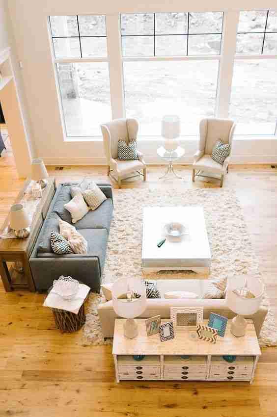 Consejos para decorar espacios muy grandes y acertar 6