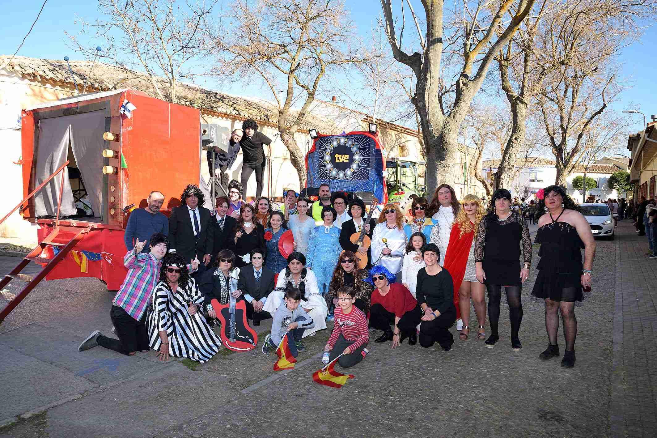 Ritmo, color y mucha originalidad en el Desfile de Comparsas 2020 de Argamasilla de Alba 31
