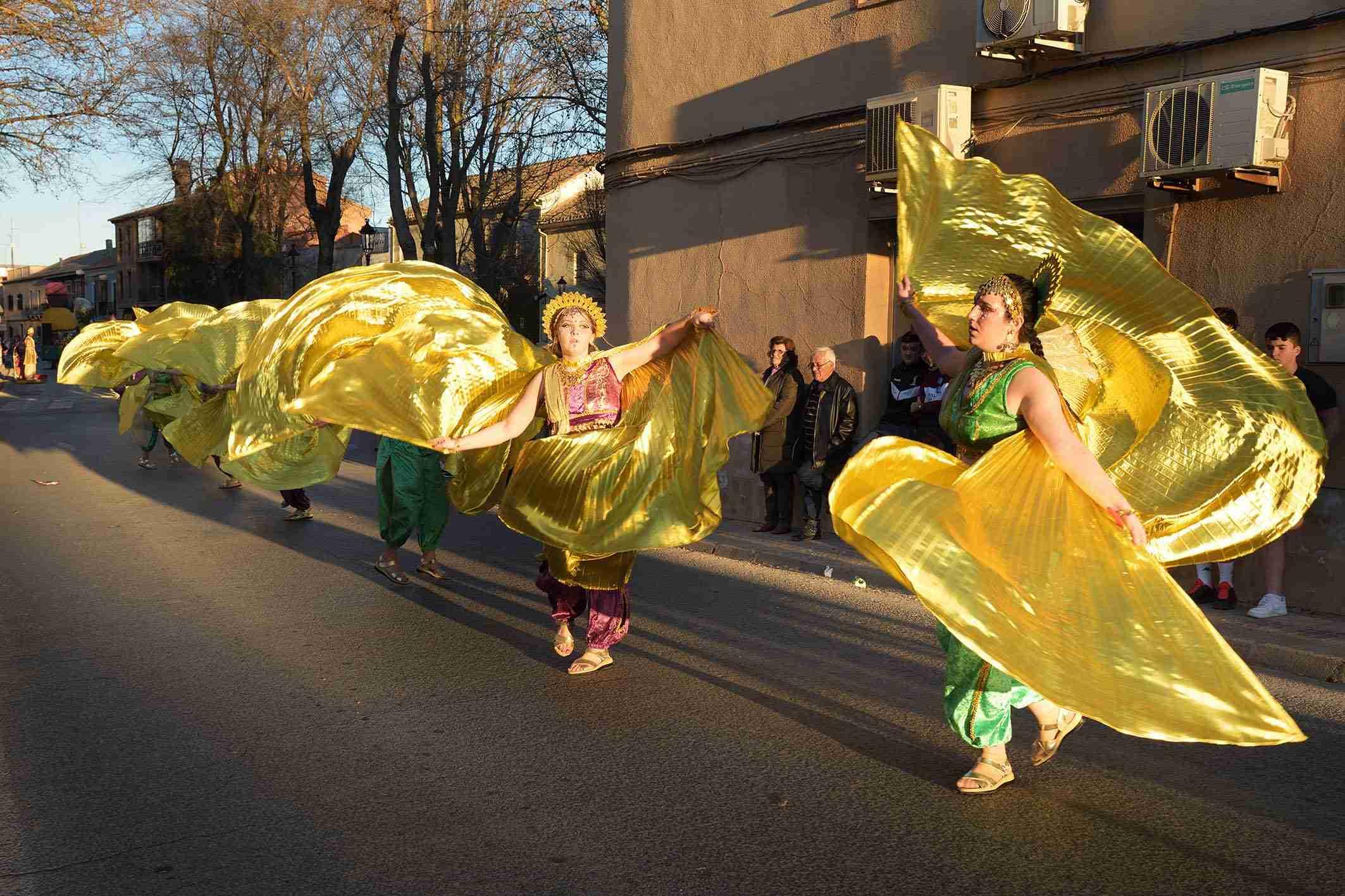 Ritmo, color y mucha originalidad en el Desfile de Comparsas 2020 de Argamasilla de Alba 42