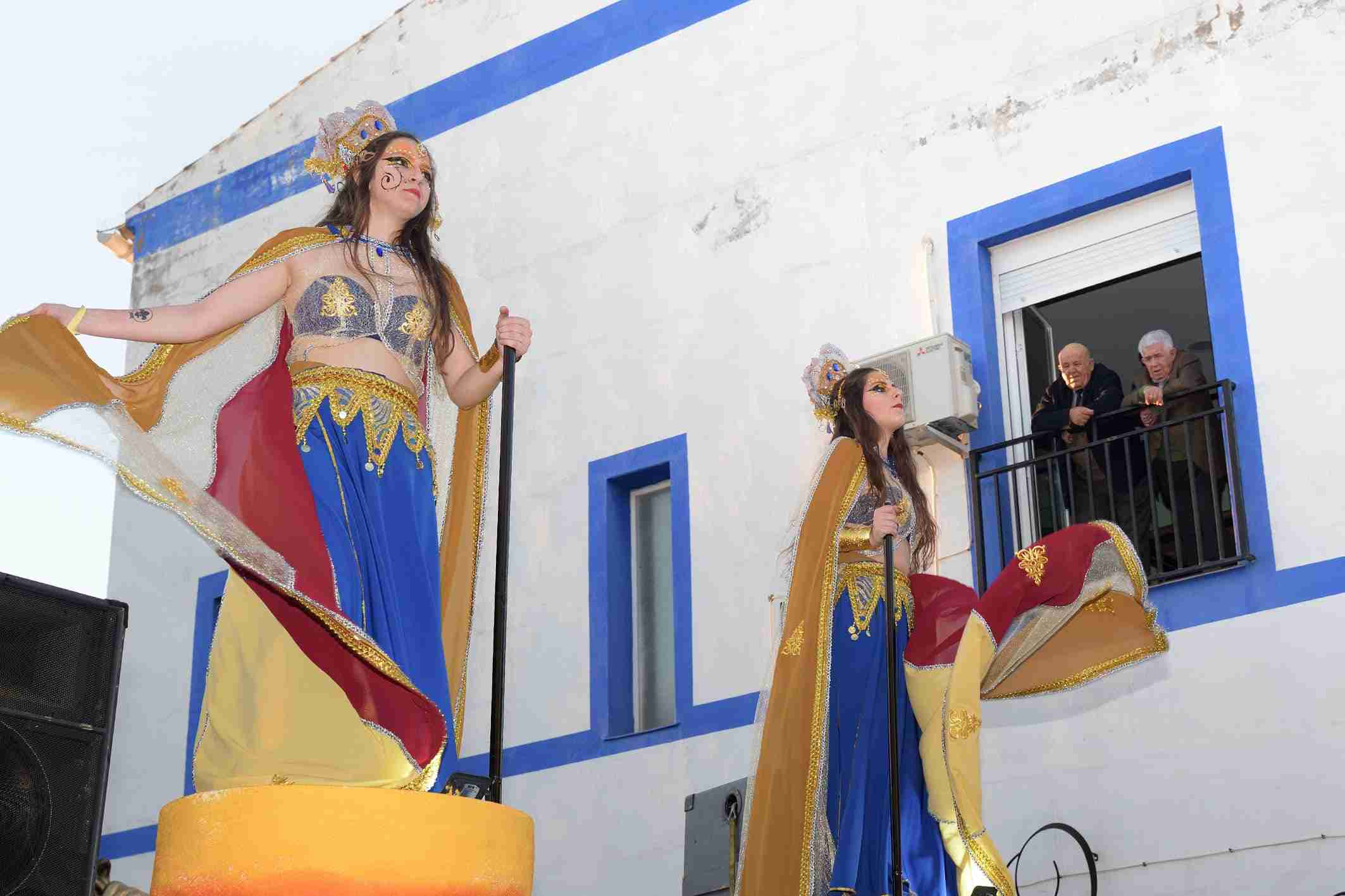 Ritmo, color y mucha originalidad en el Desfile de Comparsas 2020 de Argamasilla de Alba 44