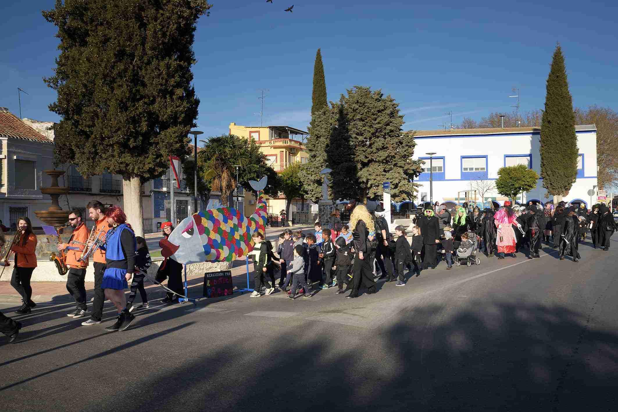 Argamasilla de Alba despide el Carnaval 2020 con el entierro de la sardina 19