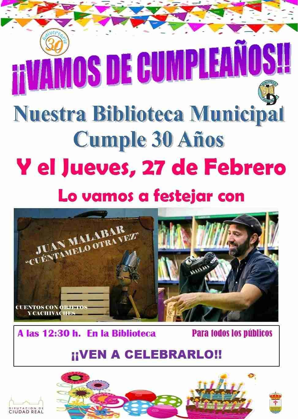 La Biblioteca Municipal de Carrizosa comienza esta semana los actos de su 30 Aniversario 7