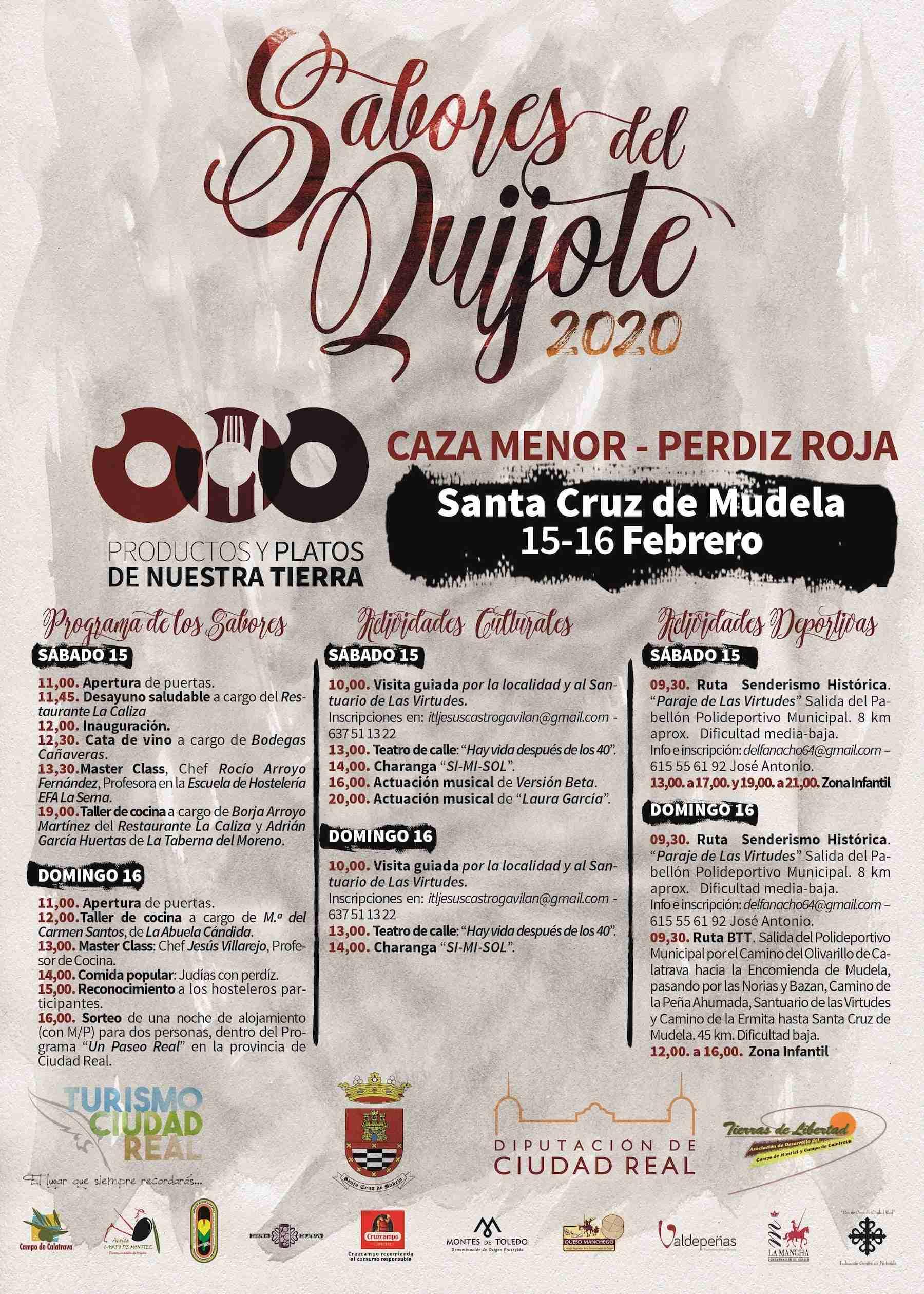 Santa Cruz de Mudela promocionará este fin de semana su gastronomía en torno a la perdiz roja y la caza menor en los Sabores del Quijote 6