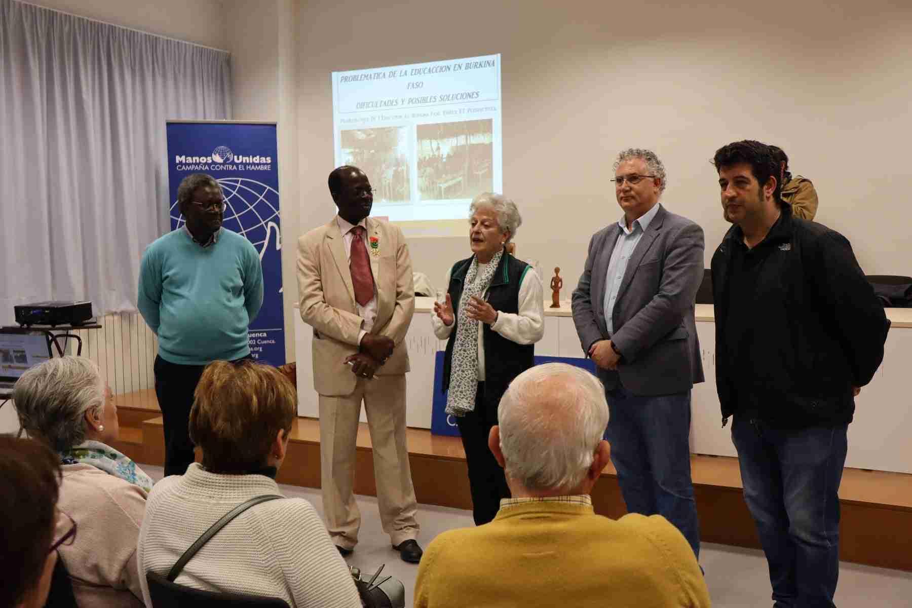 Hamidou Keivin presenta el proyecto de Manos Unidas en Burkina Faso 13
