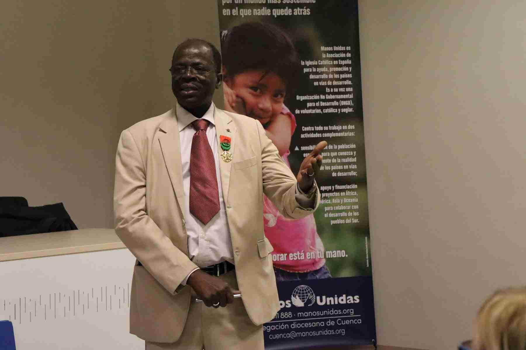 Hamidou Keivin presenta el proyecto de Manos Unidas en Burkina Faso 17