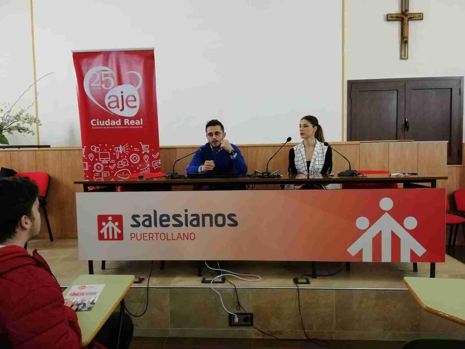 AJE fomenta la cultura del emprendimiento entre el alumnado de Secundaria de Puertollano 8