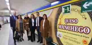 campana aprende a conocerlo de queso manchego en el metro de madrid