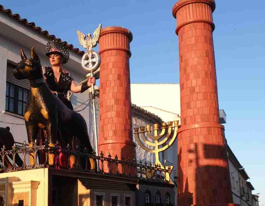 """Polémica por el desfile de """"Holocausto"""" del grupo de Las Mesas en el Carnaval de Campo de Criptana 10"""