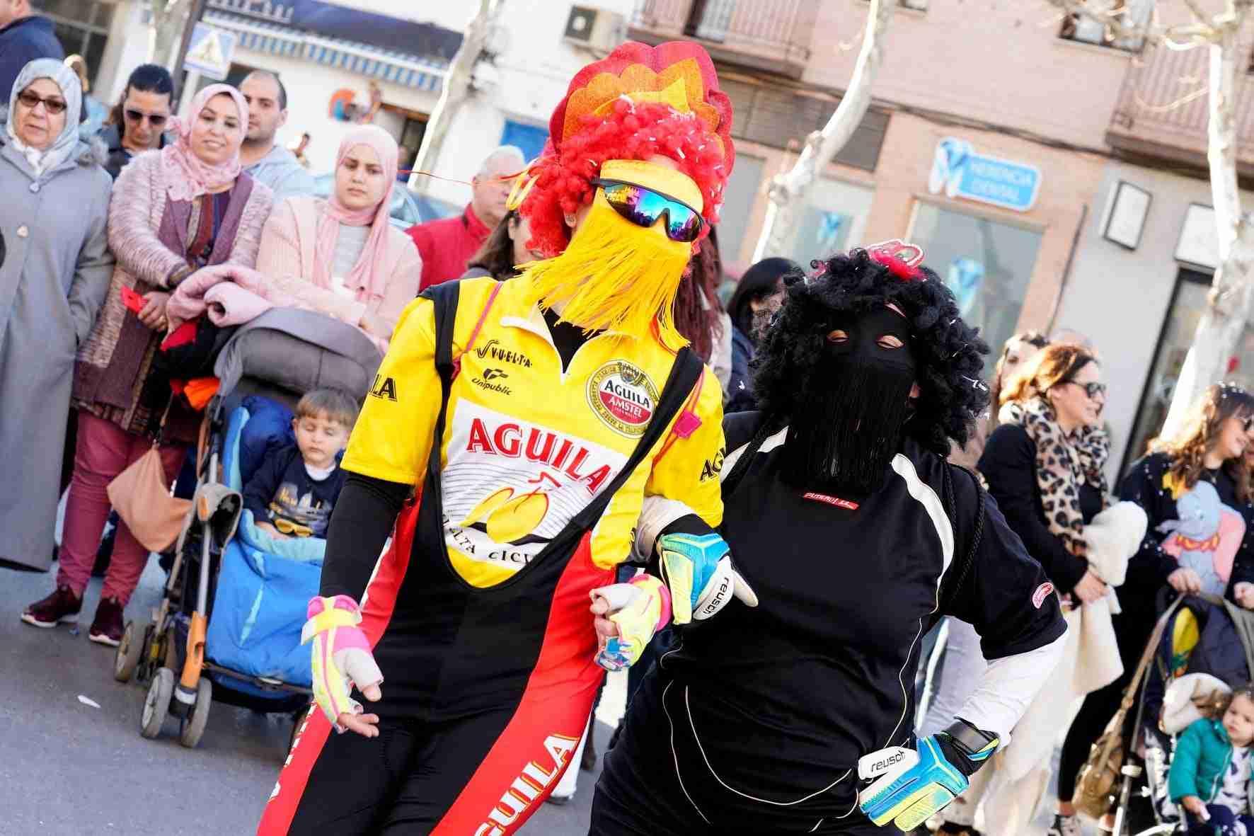 Pasacalles del Carnaval de Herencia 2020 1