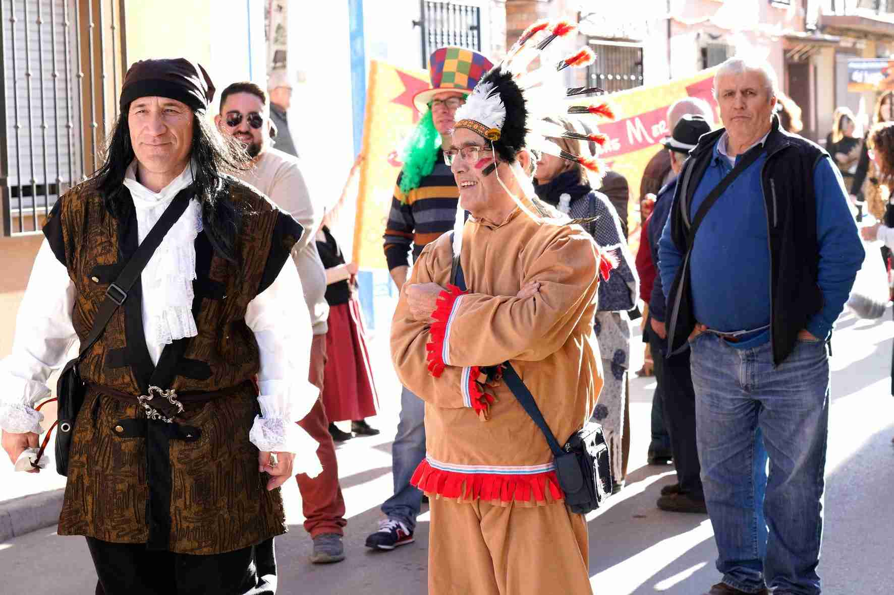 Pasacalles del Carnaval de Herencia 2020 2