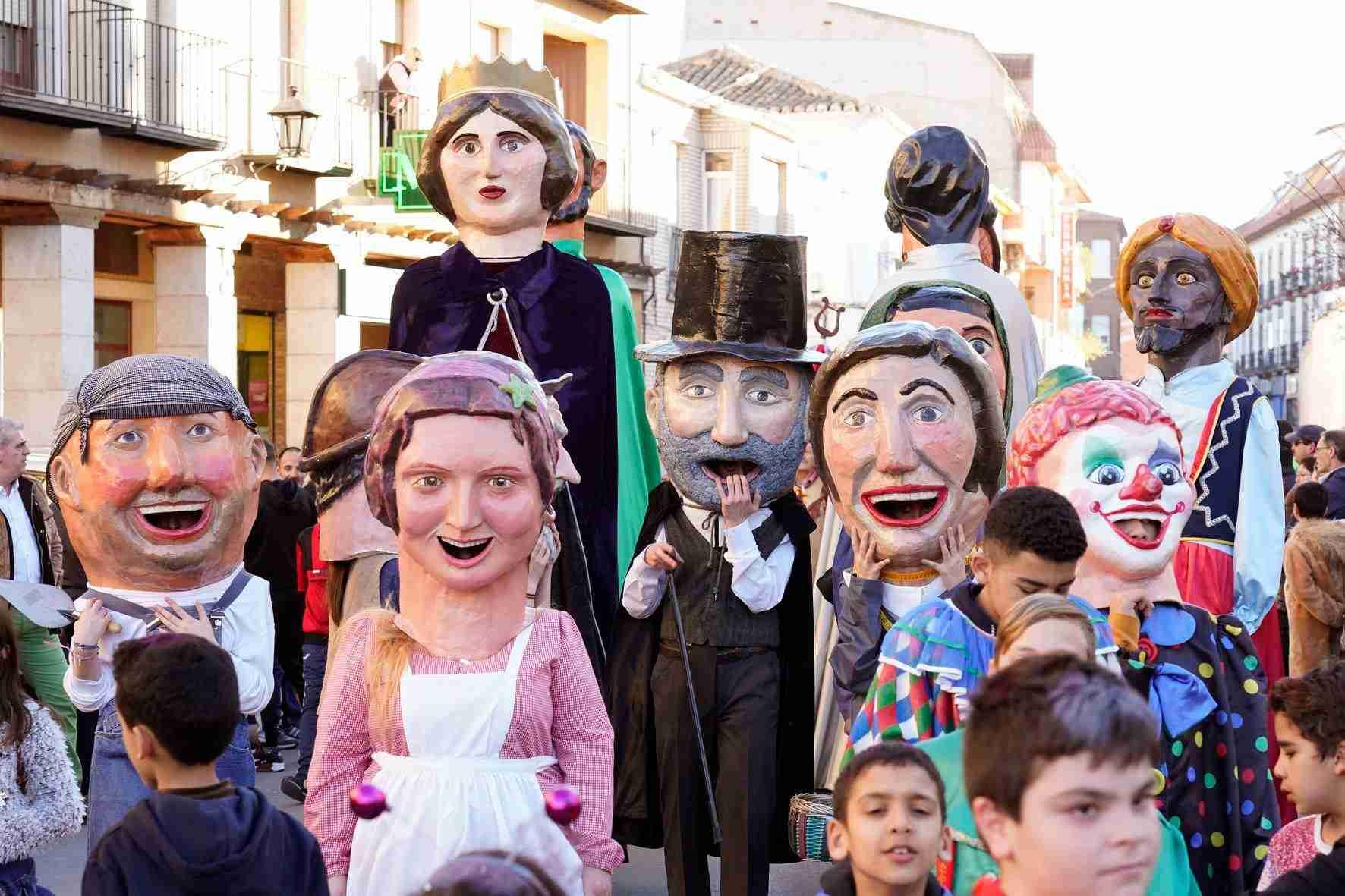 Pasacalles del Carnaval de Herencia 2020 5