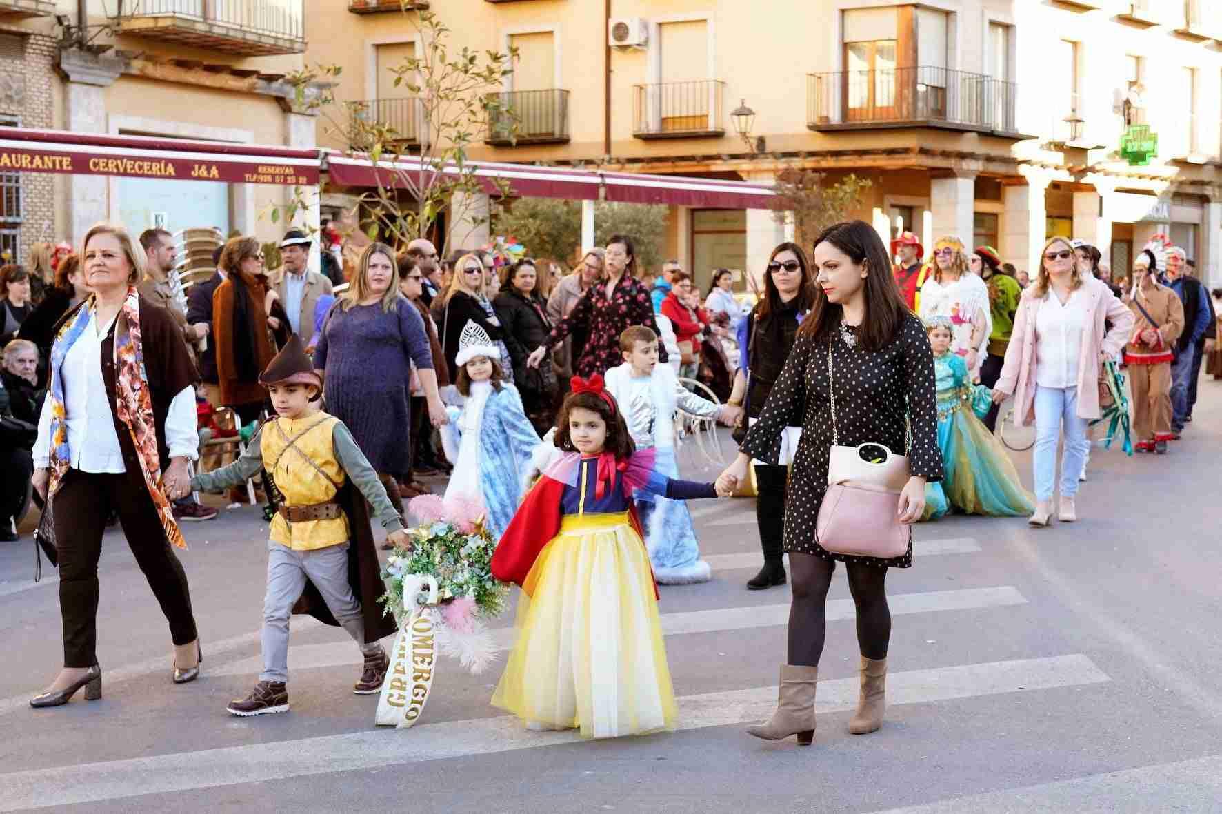 Pasacalles del Carnaval de Herencia 2020 6