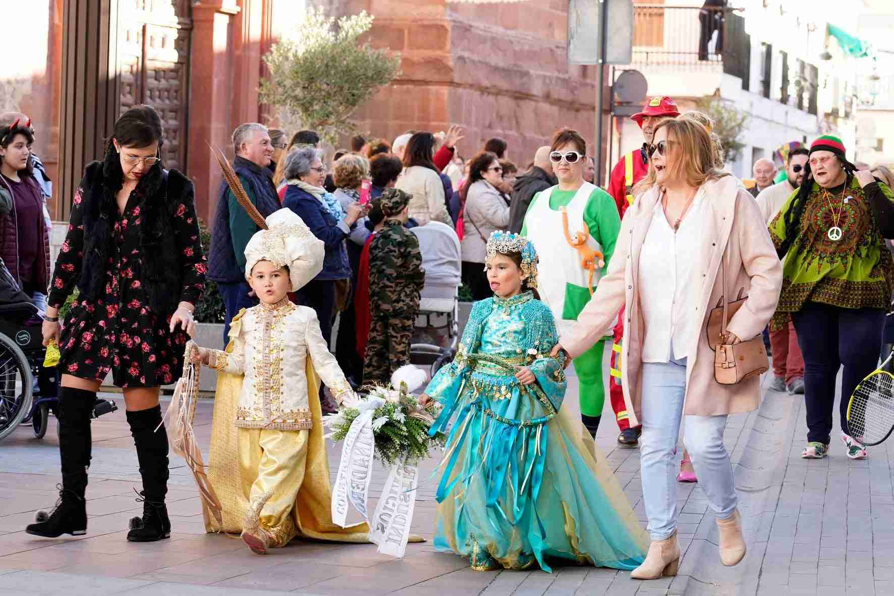 Pasacalles del Carnaval de Herencia 2020 8