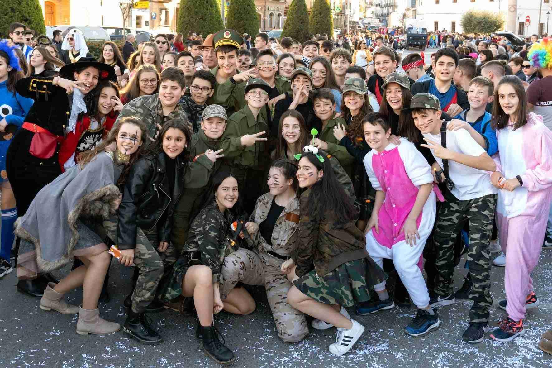 Pasacalles del Carnaval de Herencia 2020 9