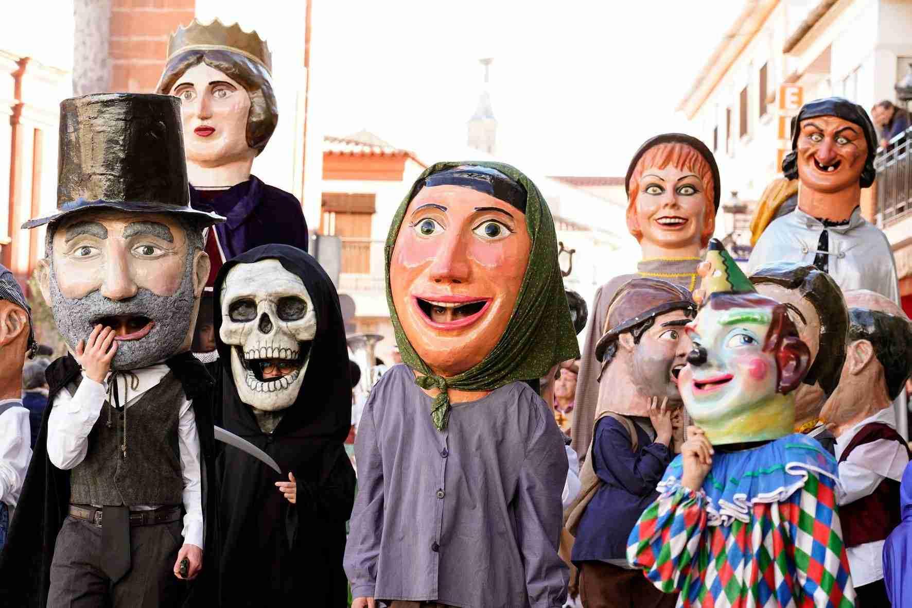 Pasacalles del Carnaval de Herencia 2020 10