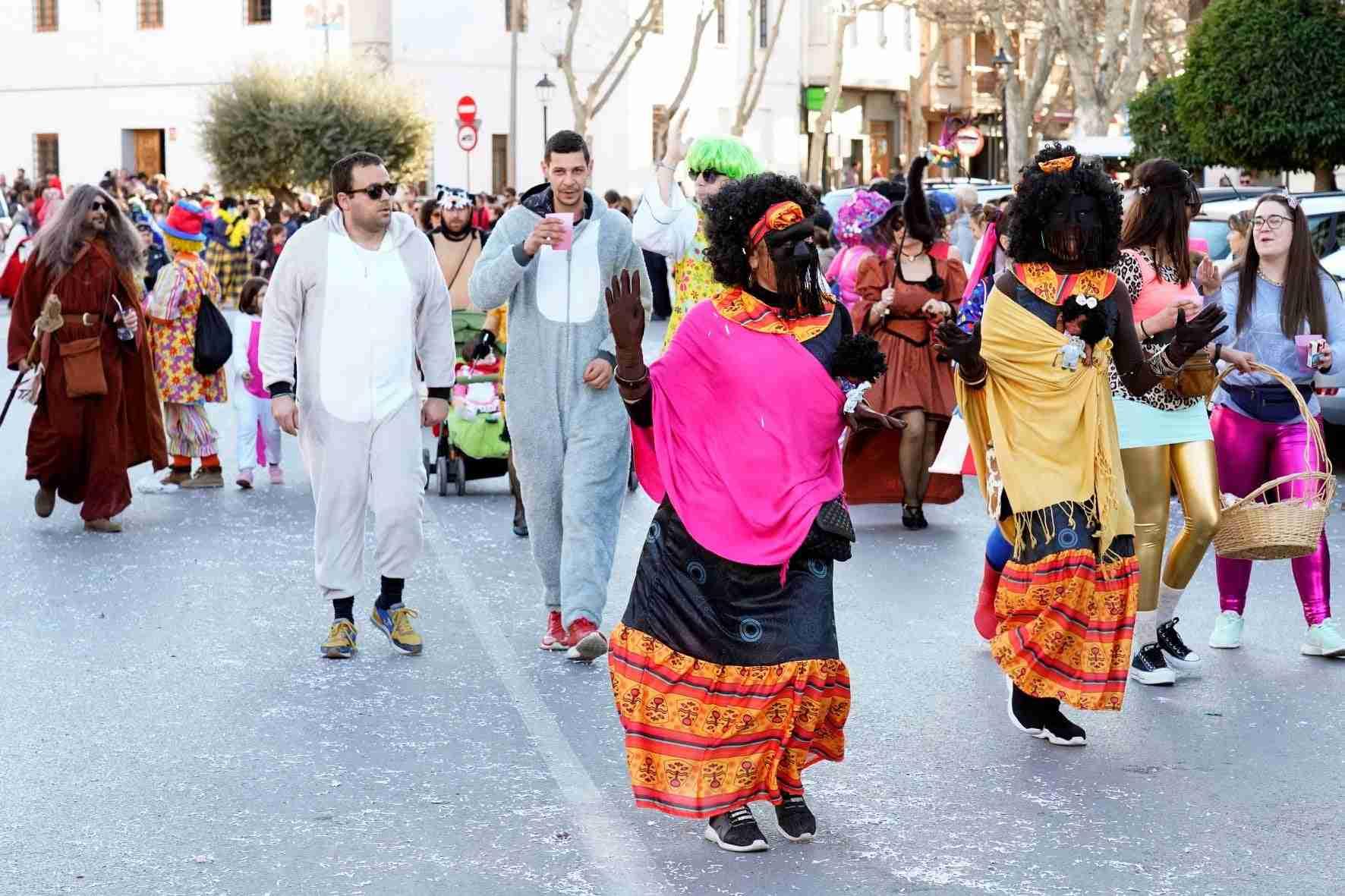 Pasacalles del Carnaval de Herencia 2020 11