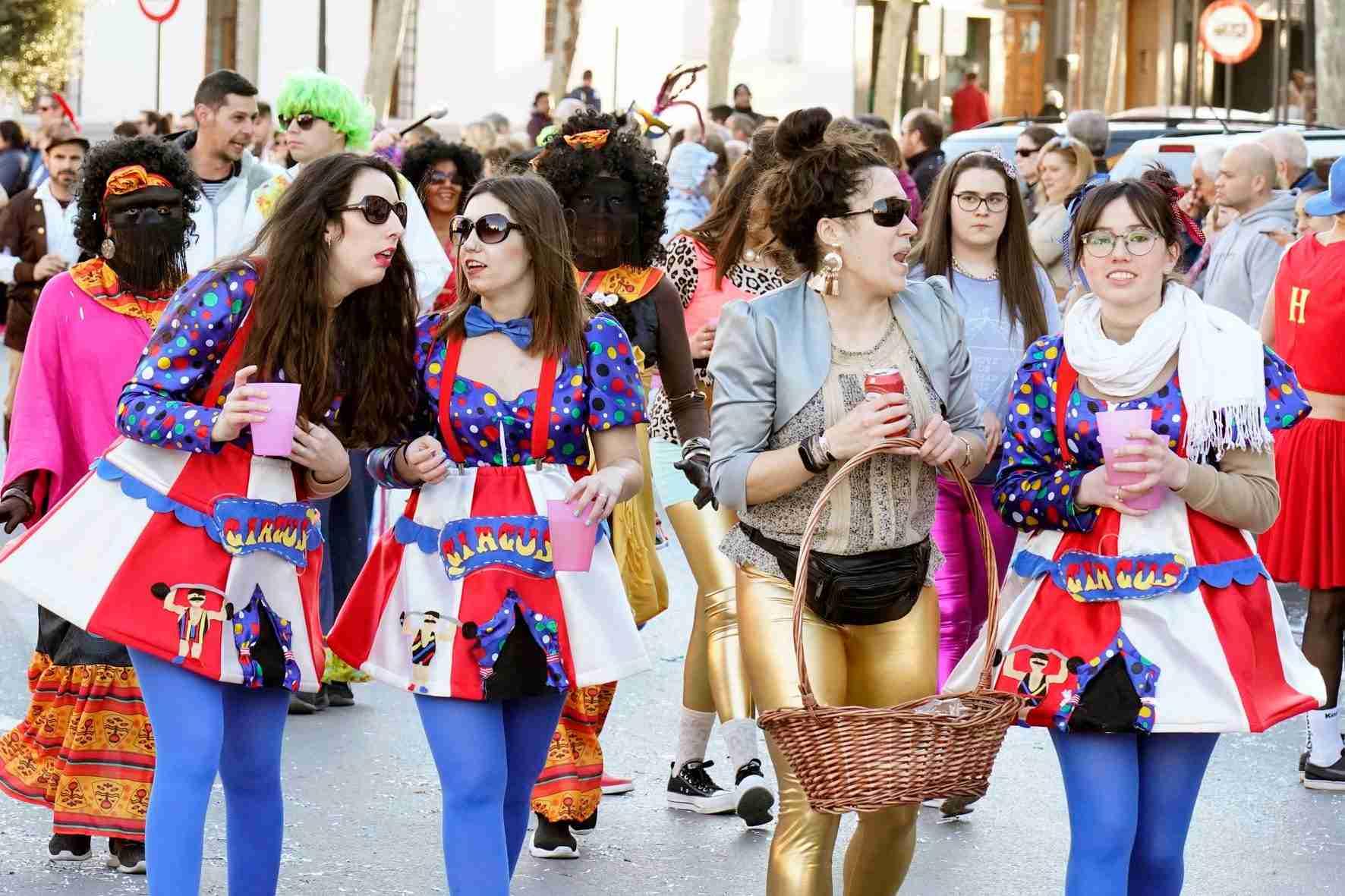 Pasacalles del Carnaval de Herencia 2020 12