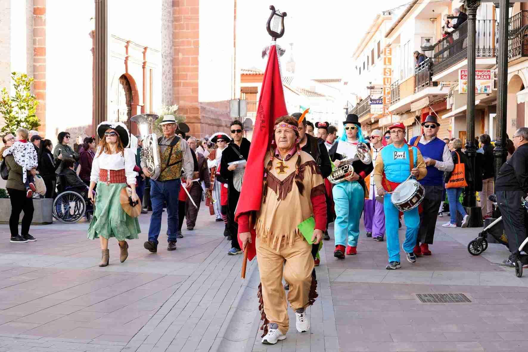 Pasacalles del Carnaval de Herencia 2020 13