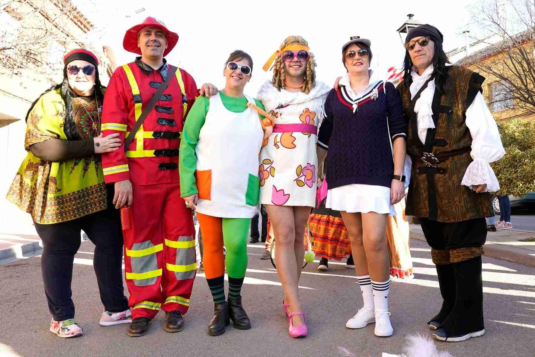 Pasacalles del Carnaval de Herencia 2020 14