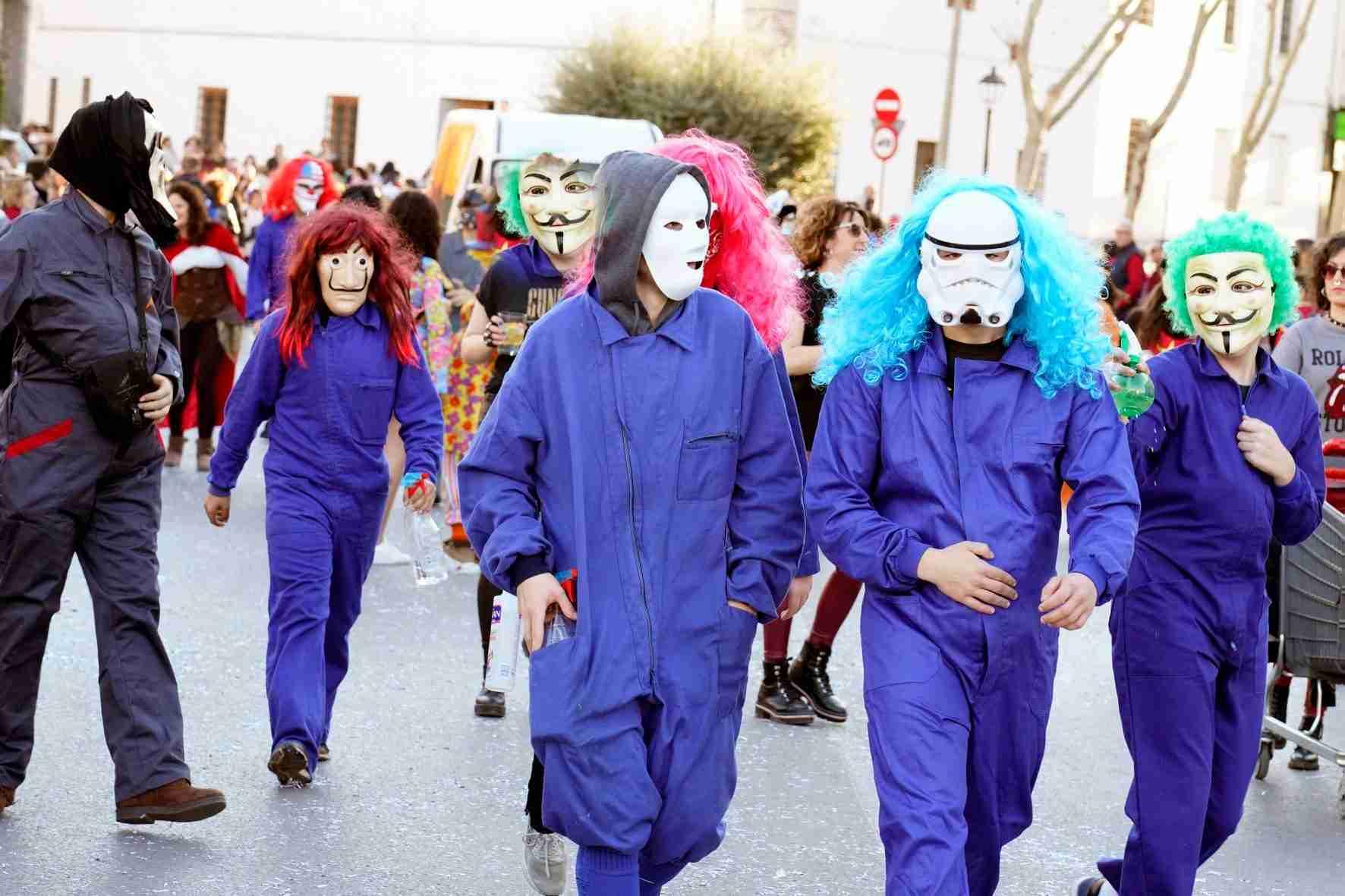 Pasacalles del Carnaval de Herencia 2020 15