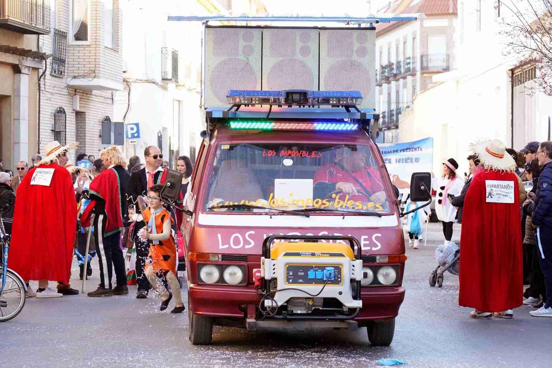 Pasacalles del Carnaval de Herencia 2020 16