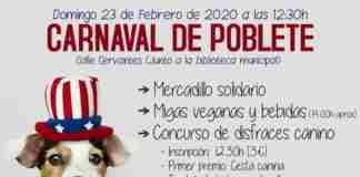carnaval de poblete con concurso de disfraces canino