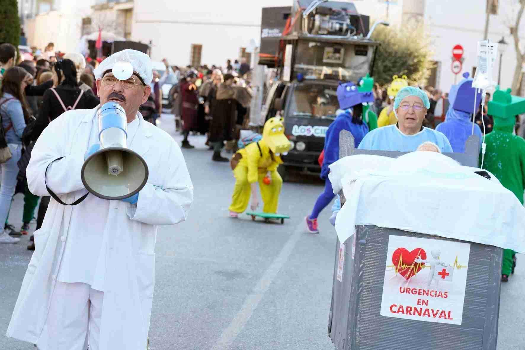 Pasacalles del Carnaval de Herencia 2020 32
