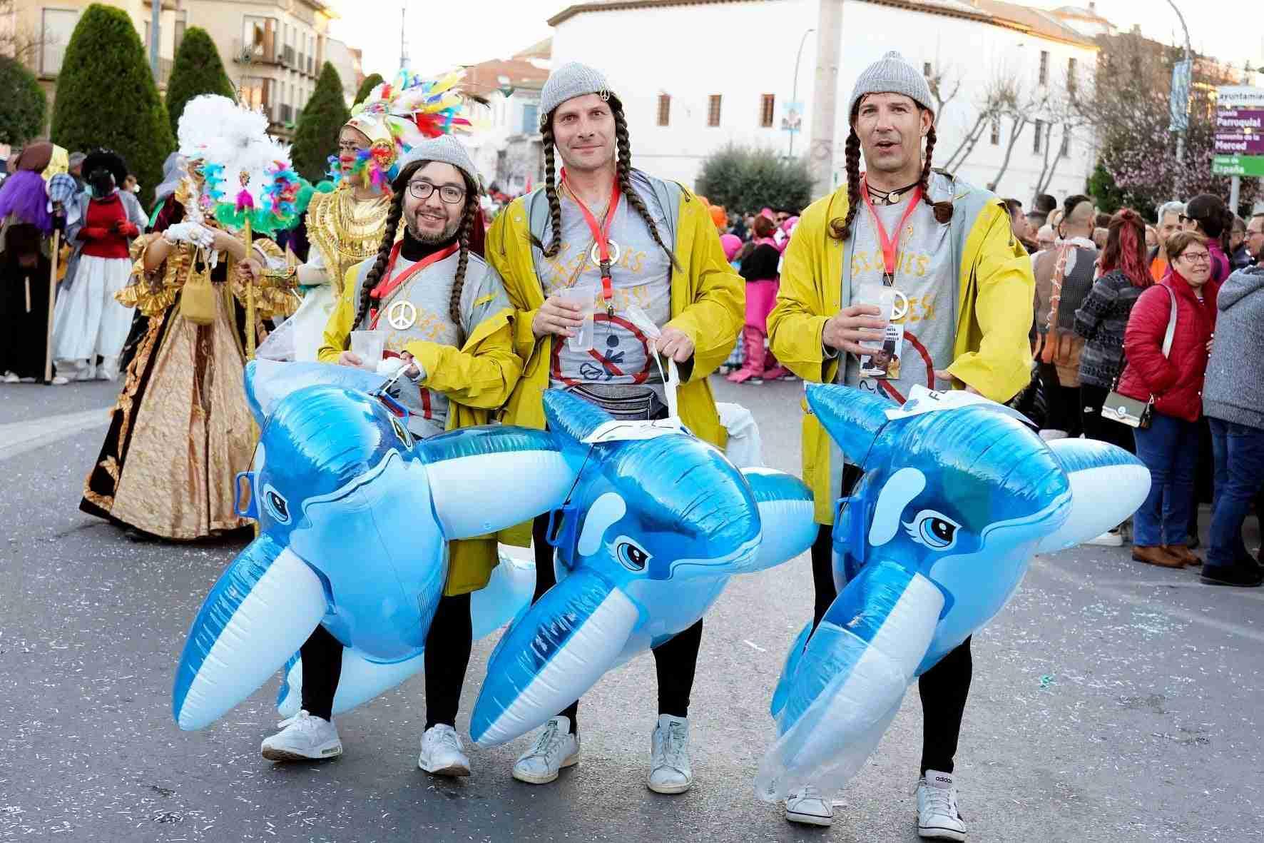 Pasacalles del Carnaval de Herencia 2020 27