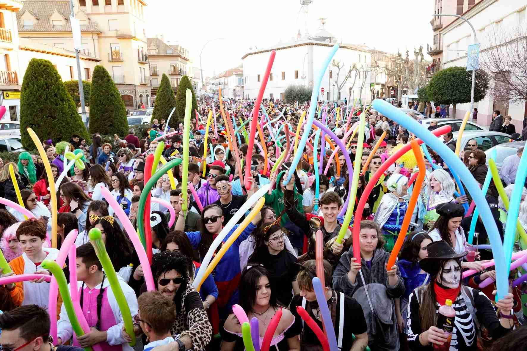 Pasacalles del Carnaval de Herencia 2020 42