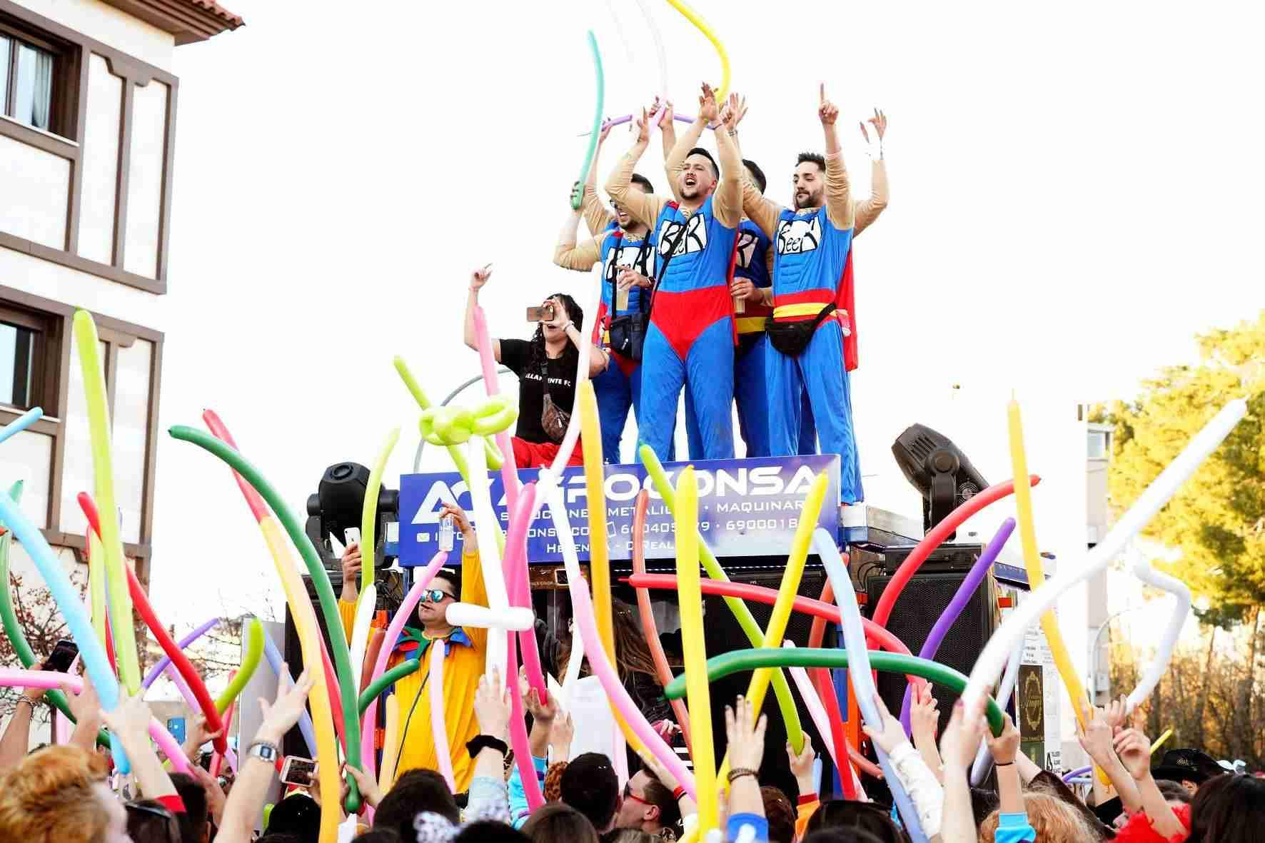 Pasacalles del Carnaval de Herencia 2020 28