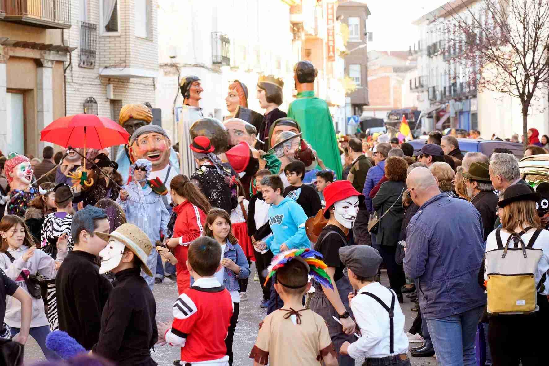 Pasacalles del Carnaval de Herencia 2020 45