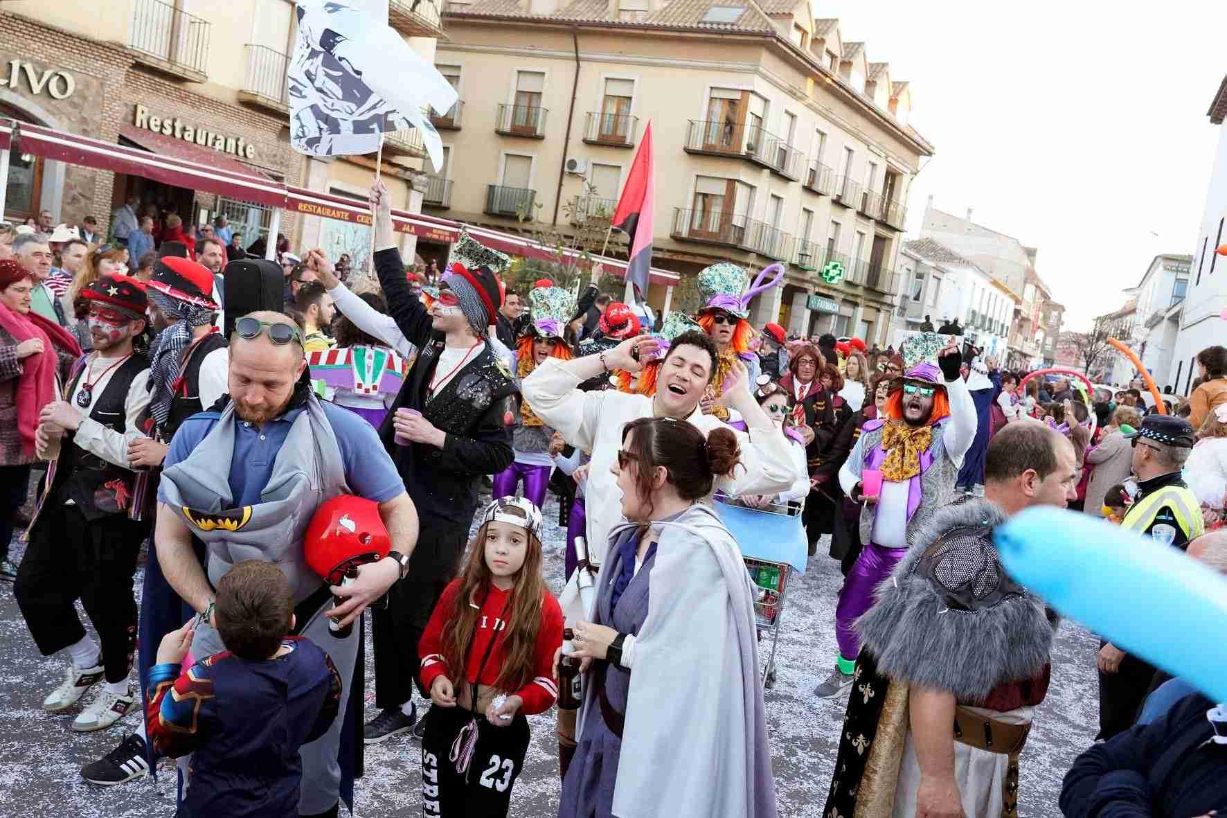 Pasacalles del Carnaval de Herencia 2020 49