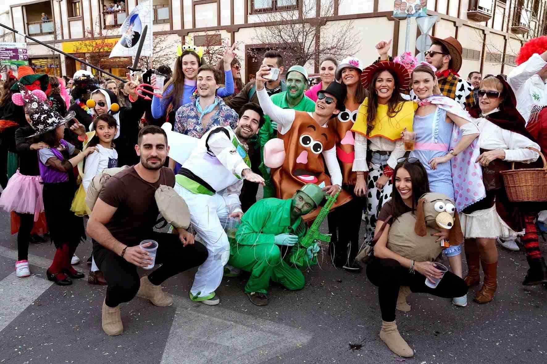 Pasacalles del Carnaval de Herencia 2020 51