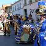 """Harúspices con su 'Ojo al Parche"""" se lleva el primer premio del Concurso regional de Carrozas de Villarrubia de los Ojos 5"""