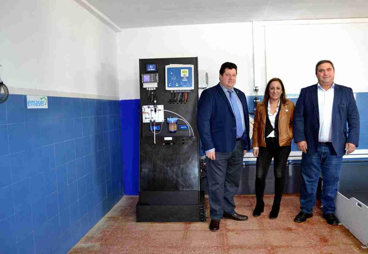 Notables mejoras en la potabilizadora de Castellar de Santiago y Torrenueva 14