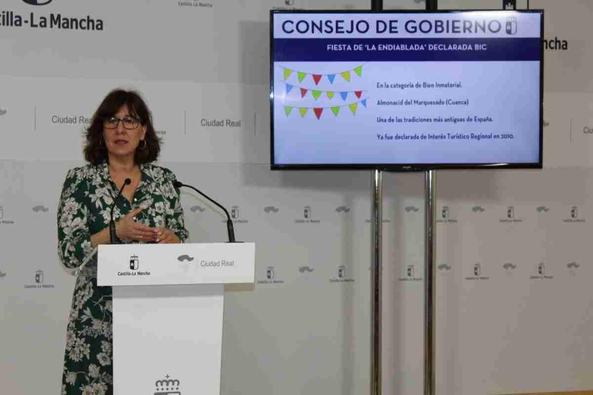El Gobierno de Castilla-La Mancha acuerda declarar Bien de Interés Cultural la fiesta de 'La Endiablada' de Almonacid del Marquesado