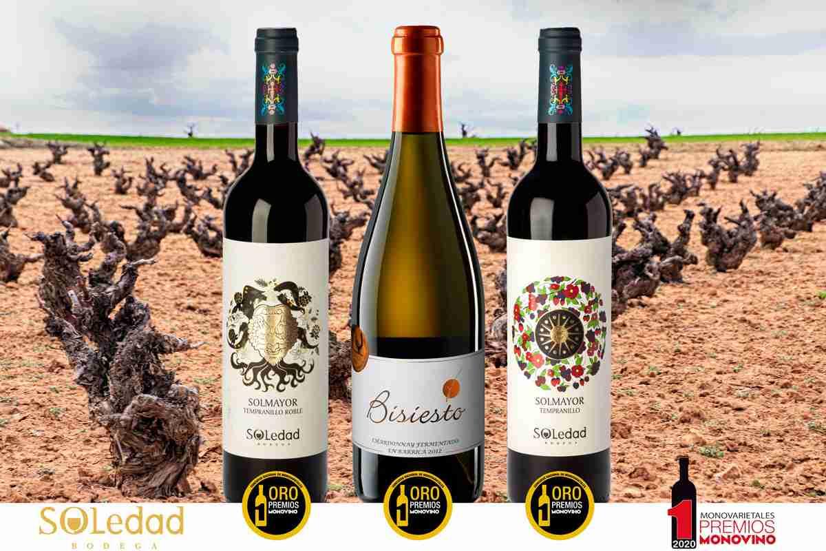 Bodega Soledad, gran triunfadora en los premios a los mejores vinos monovarietales españoles 1