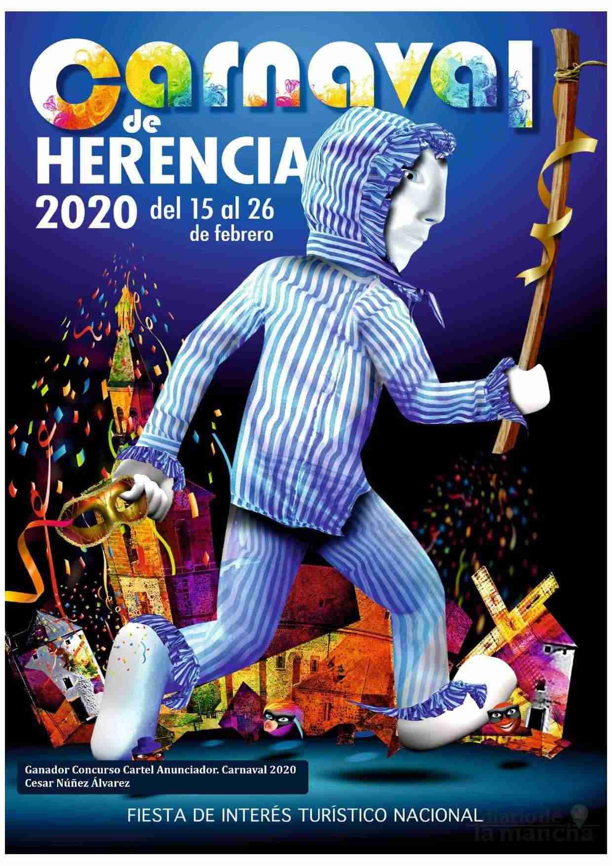 El Carnaval de Herencia contará con el actor Salva Reina como pregonero 2