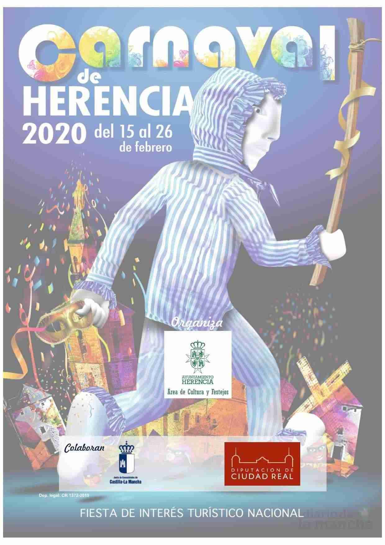 El Carnaval de Herencia contará con el actor Salva Reina como pregonero 11
