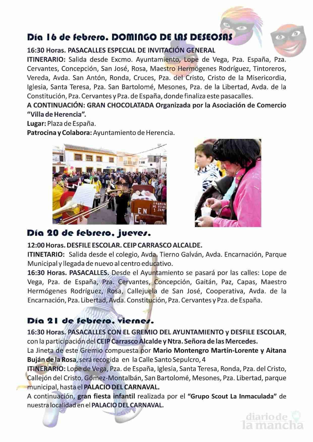 El Carnaval de Herencia contará con el actor Salva Reina como pregonero 5