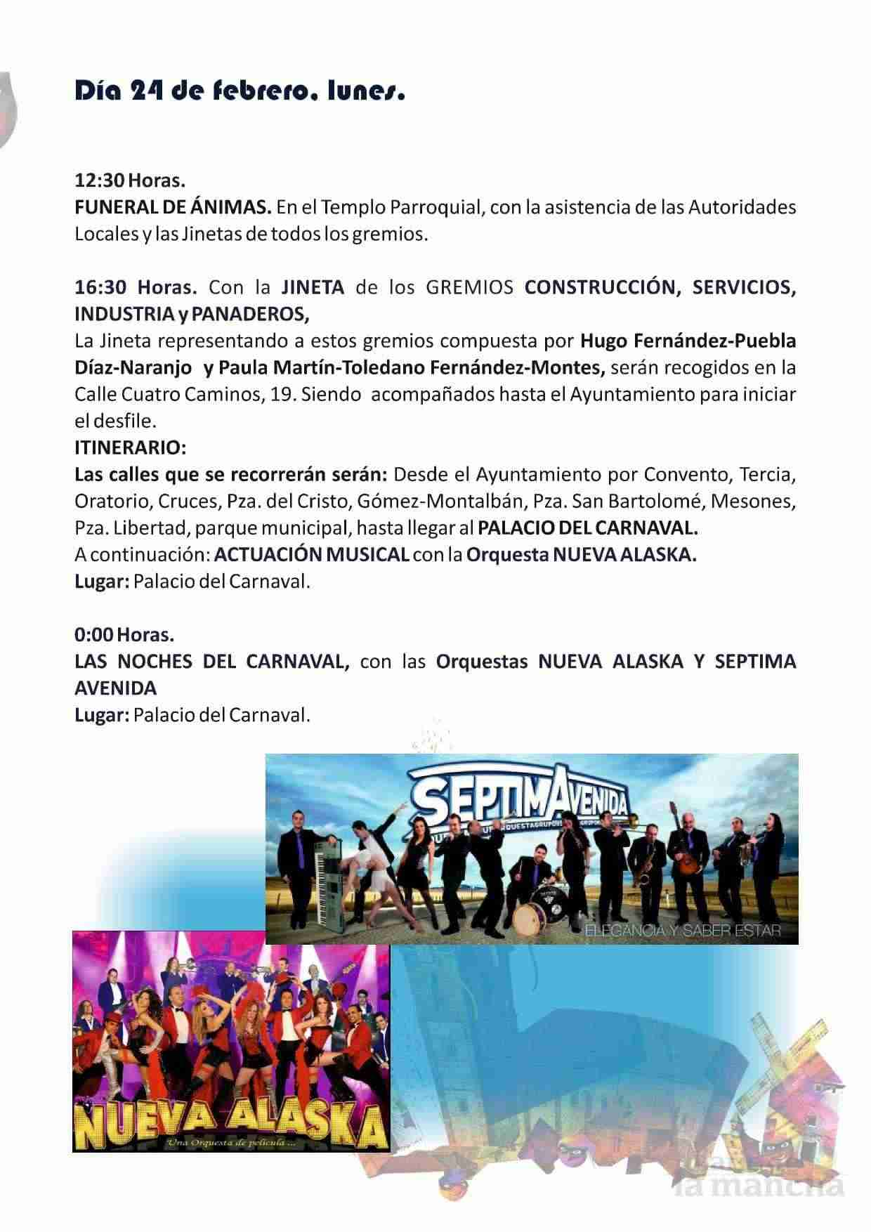 El Carnaval de Herencia contará con el actor Salva Reina como pregonero 8