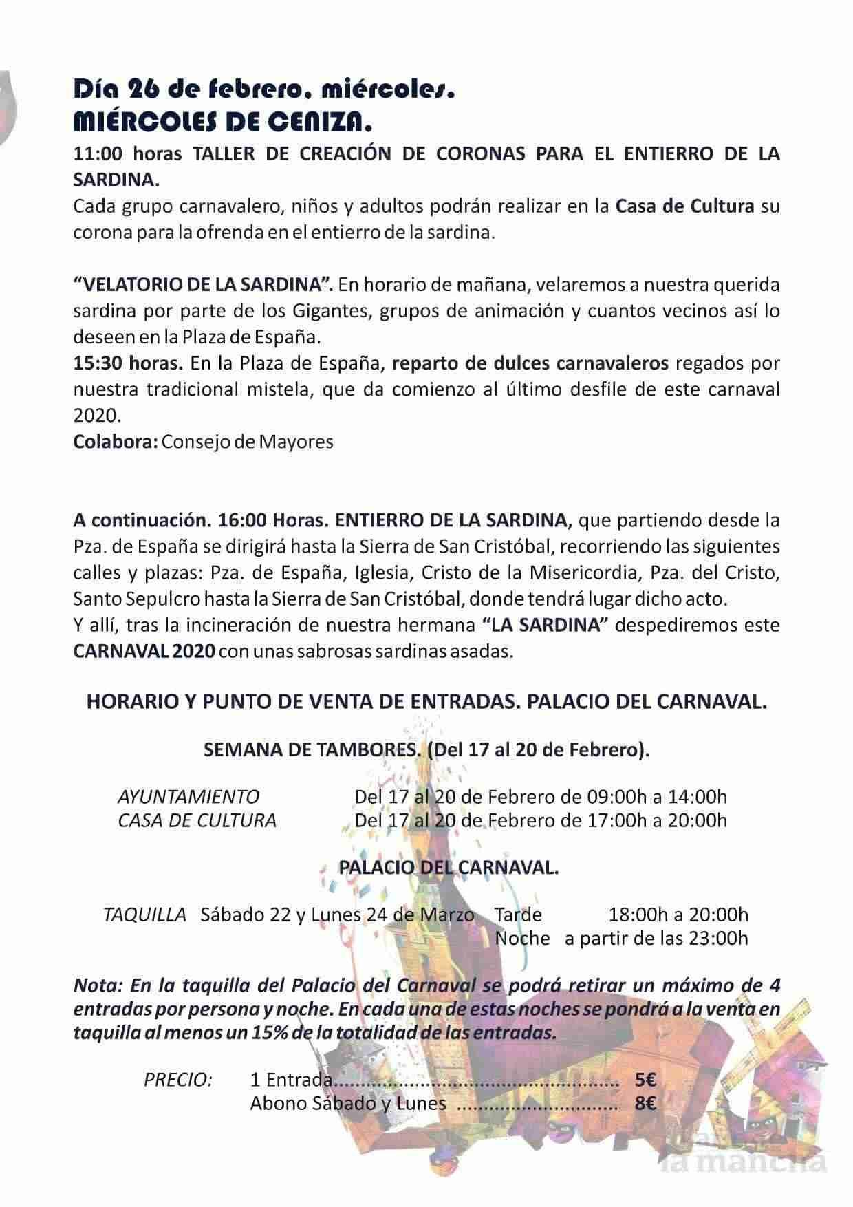 El Carnaval de Herencia contará con el actor Salva Reina como pregonero 10