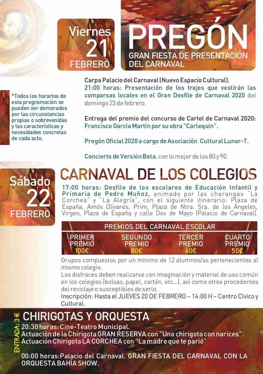 Pedro Muñoz presenta su programación para Carnaval 2020 10