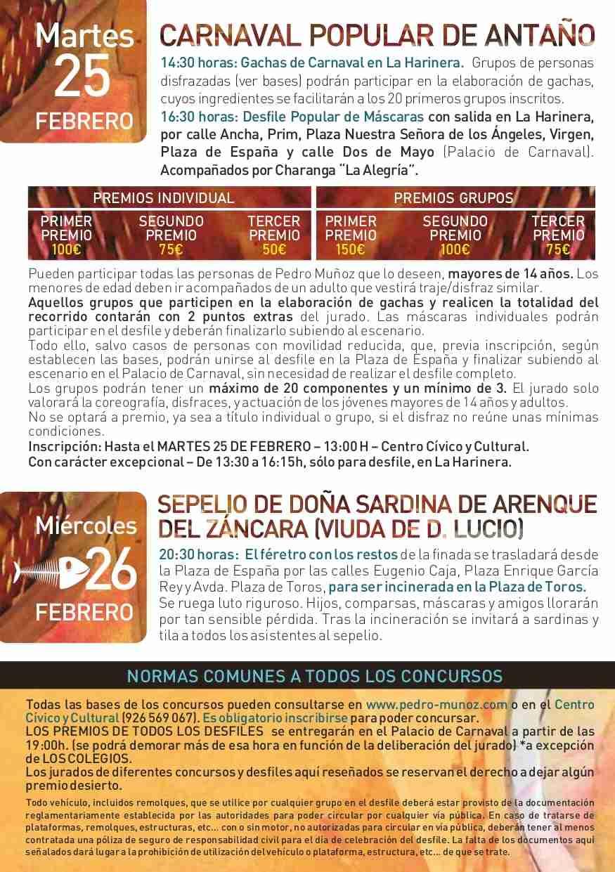 Pedro Muñoz presenta su programación para Carnaval 2020 12